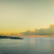Panorama of Roatan, Honduras at sunrise, beautiful scenic - PhotoDune Item for Sale