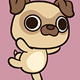 Kawaii Pug - GraphicRiver Item for Sale