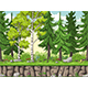 Seamless Cartoon Forest Background - GraphicRiver Item for Sale