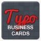 The Typographist - Business Cards - GraphicRiver Item for Sale