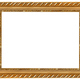 The antique gold frame - PhotoDune Item for Sale