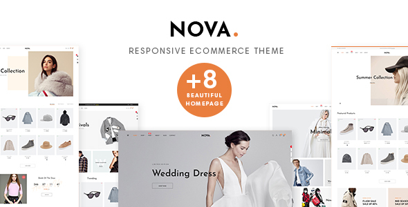 Nova Prestashop 1.7.5.x Theme for Fashion | Clothing| Bags | Shoes | Accessories