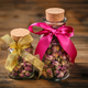 Pink buds in a glass jars - PhotoDune Item for Sale