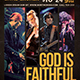 God is Faithful Church Flyer - GraphicRiver Item for Sale
