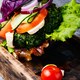Veggie burgers with vegetables - PhotoDune Item for Sale