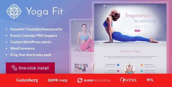 Yoga Fit - Sports, Fitness & Gym WordPress Theme - Health & Beauty Retail