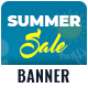 Summer Sale Web Banner Set - GraphicRiver Item for Sale