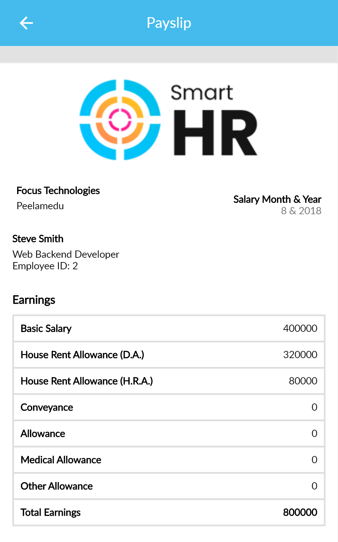 SmartHR   HR Management System - Ionic and React Native Mobile App Template