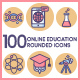 Education Icons - Butterscotch Series - GraphicRiver Item for Sale