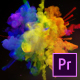 Exploding Colors Logo Reveal - Premiere Pro - VideoHive Item for Sale