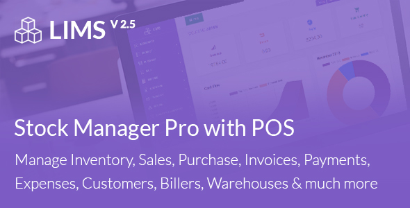 LIMS Stock Manager Pro with POS, HRM, Accounting - CodeCanyon Item for Sale