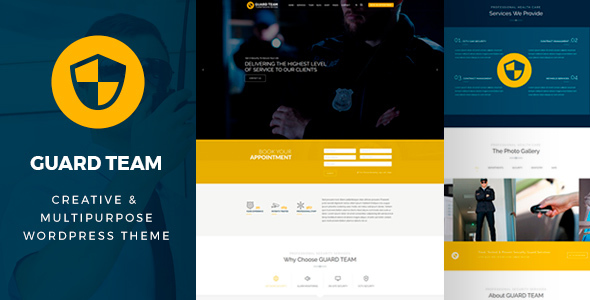 Guard Team - Security WordPress Theme - Business Corporate