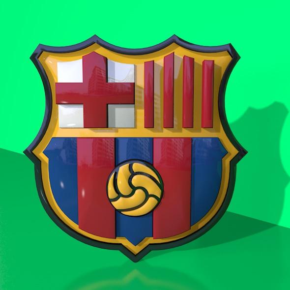 newest 61e80 28988 ... FC Barcelona 3D Logo0007.jpg ...