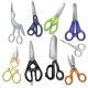 Scissor Vector Professional Pair of Scissors - GraphicRiver Item for Sale