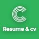 Cverto - Personal resume, portfolio & vcard script