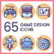 Game Design Icons - Butterscotch - GraphicRiver Item for Sale
