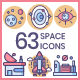 Space Icons - Butterscotch Series - GraphicRiver Item for Sale