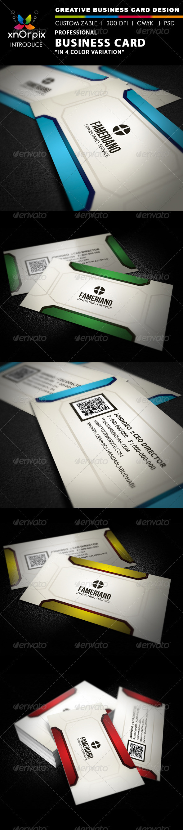 Professional Business Card - Business Cards Print Templates