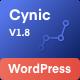 Digital Agency WordPress Theme - Cynic - ThemeForest Item for Sale