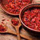 Heap of red pepper flakes - PhotoDune Item for Sale
