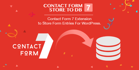 Contact Form 7 Store to DB - CF7 Extension to Store Form Entries (Fully GDPR Compliance) - CodeCanyon Item for Sale