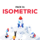Isometric Pack 01 - GraphicRiver Item for Sale