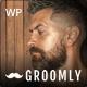 Groomly - Men's Grooming Scheduling & Reservation WordPress Theme