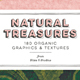 Natural Treasures: 180 Organic Graphics and Textures - GraphicRiver Item for Sale