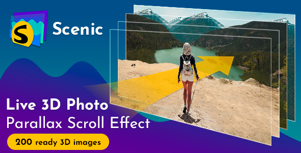 Scenic 3D Photo Parallax v1.4 - CodeCanyon Item for Sale