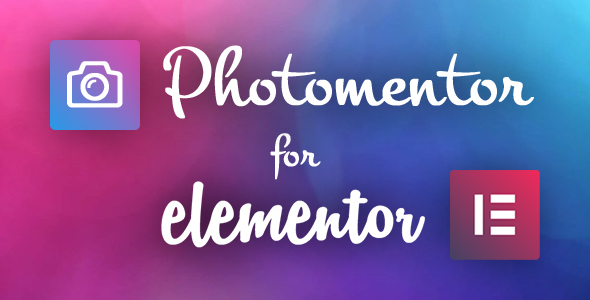 Photomentor - Professional Photography Widgets for Elementor
