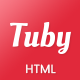 Tuby - YouTube Show Landing Page Template - ThemeForest Item for Sale