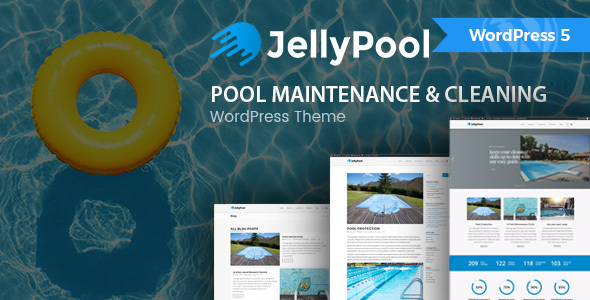 JellyPool - Pool Maintenance & Cleaning WordPress Theme - Business Corporate
