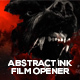 Abstract Ink Film Opener - VideoHive Item for Sale