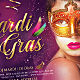 Masquerade Mardi Gras Party Flyer - GraphicRiver Item for Sale