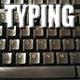 Typing Computer Keyboard