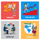 Business & Team work Flat icons - GraphicRiver Item for Sale