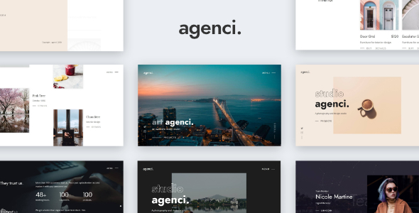 Great Agenci - Modern Creative Portfolio Website Template