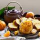 Tangerine cake with tea - PhotoDune Item for Sale