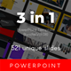 3 in 1 Multipurpose PowerPoint Template Bundle (Vol.08) - GraphicRiver Item for Sale