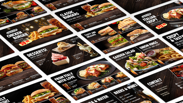Food Menu Restaurant Promo