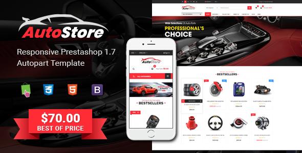 AutoStore - Responsive PrestaShop 1.7 Autopart Theme - PrestaShop eCommerce