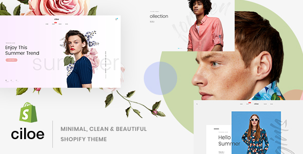 Ciloe - Minimal, Clean & Beautiful Shopify Theme