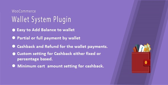 WooCommerce Wallet And Cashback Plugin - CodeCanyon Item for Sale