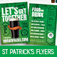 St. Patrick's Day Bar Flyers - GraphicRiver Item for Sale