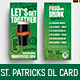 St. Patrick's Day DL Card Template - GraphicRiver Item for Sale