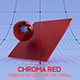 Cinema4D Octane CHROMA Red Material - 3DOcean Item for Sale