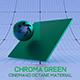 Cinema4D Octane CHROMA Green Pearl Material - 3DOcean Item for Sale
