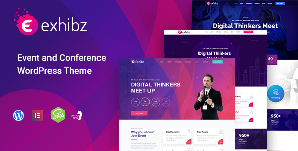 Conference Event WordPress Theme by trippleS