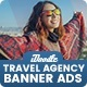 Travel Agency Banners HTML5 D56 Ad - CodeCanyon Item for Sale