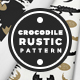 Crocodile Rustic Pattern - GraphicRiver Item for Sale
